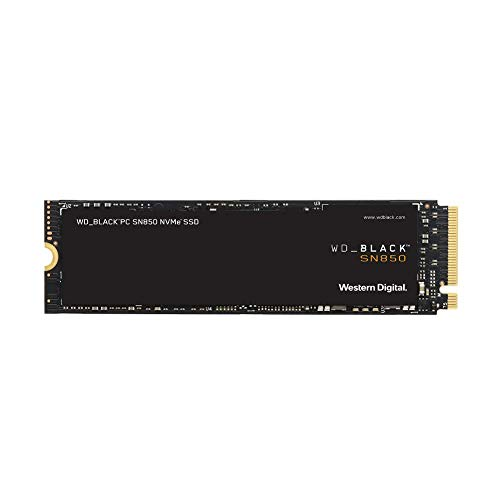 WD_Black 1TB SN850 NVMe Internal Gaming SSD Solid State Drive - Gen4 PCIe, M.2 2280, 3D NAND, Up to 7,000 MB/s - WDS100T1X0E