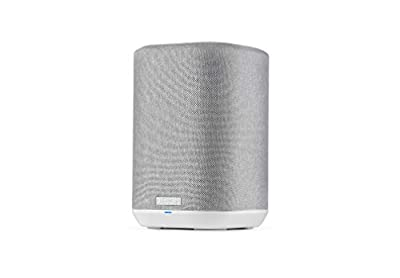 Denon Home 150 Wireless Speaker, HiFi speaker with Bluetooth, WiFi, AirPlay 2, Google Assistant / Siri / Alexa Compatible, Music Streaming, HEOS Built-in for Multiroom - White from Denon