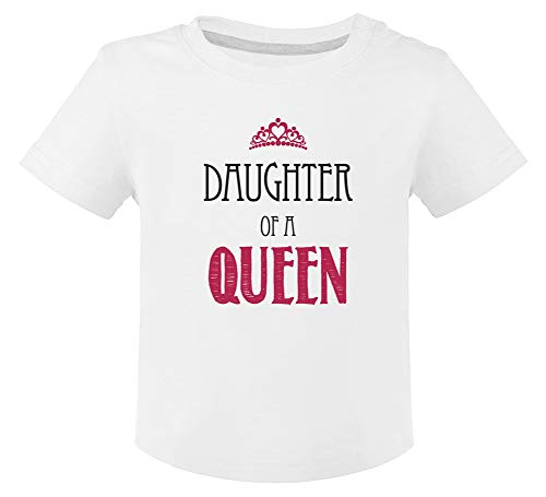 Green Turtle Fête des mères - Fille d'une Reine T-Shirt Bébé Unisex 24M Blanc
