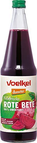 Voelkel Bio Rote Bete Saft - 100% Direktsaft (6 x 700 ml)