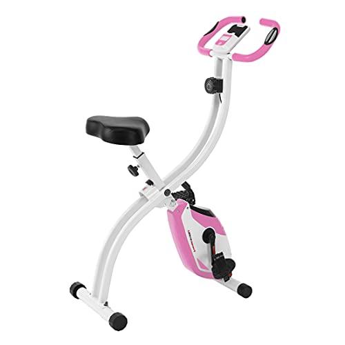 Ultrasport F-Bike 150 ohne Rückenlehne, Heimtrainer, Fitnessbike, Pink
