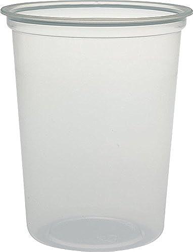 Solo Mn32–0100Polypropylène MicroGourmet Nourriture, capacité de 32G, 11,9x 14,5cm, Clear (lot de 500)