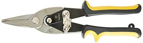 Topex 01A427 Tijeras corta chapa recta, 250 mm
