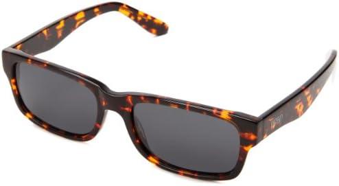 Proof Loom Eco Polarized Rectangular Sunglasses Brown Tortoise 51 mm product image
