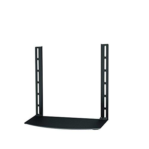 Newstar NS-SHELF100 AV Equipment Shelf for Sky/Virgin/BT/Freeview Box, Xbox, Playstation, DVD and Bluray Players - Black