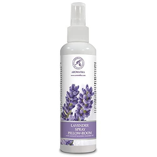Spray Lavande aux Huiles Essentielles Pur & Naturel 250ml - Idéal Spray d'Ambiance pour Yoga - Aromathérapie - Coussins à Vaporiser - Relaxation - Sommeil et Air Ambiant - Aroma Spray