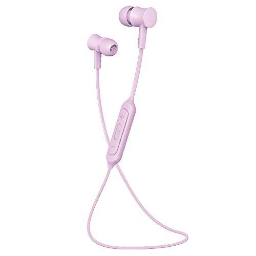 グルマンディーズ Bluetoothステレオイヤホン-パステル- パープル btp-01pu