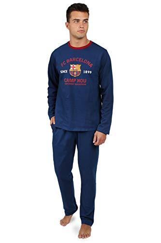 FC Barcelona Pijama Manga Larga Camp NOU para Hombre