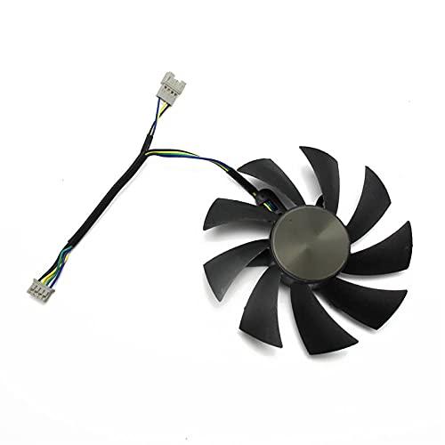 87mm GA92S2H 100mm GAA8S2H GAA8S2U 4Pin Fan del Enfriador para Zotac GTX 1060 1070 TI Mini HA 1080 TI Tarjeta gráfica Dual Fan de enfriamiento (Blade Color : 1PCS)