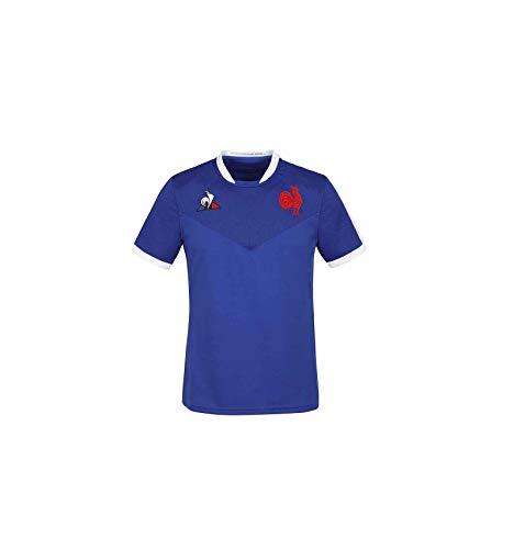 Le Coq Sportif FFR XV Maillot Replica SS W Camiseta de Manga Corta, Mujer, Cobalt, M