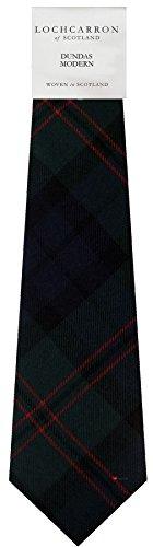 I Luv Ltd Gents Neck Tie Dundas Modern Tartan Lightweight Scottish Clan Tie