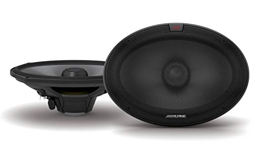 Alpine R-S69.2 R-Series 6x9-inch Coaxial 2-Way Speakers (Pair)