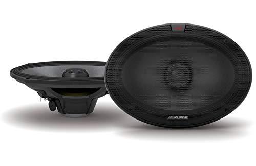 Alpine R-S69.2 R-Series 6x9-inch Coaxial 2-Way Speakers (Pair)