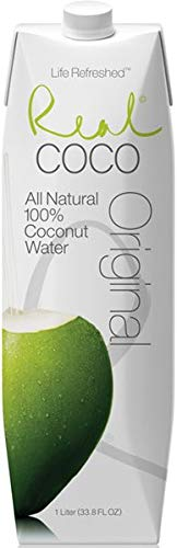 Real Coco- Acqua di Cocco 100% naturale 1L (12 unità)