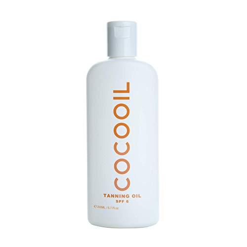 COCOOIL Tanning Oil SPF 6 | 6.7 Fl Oz