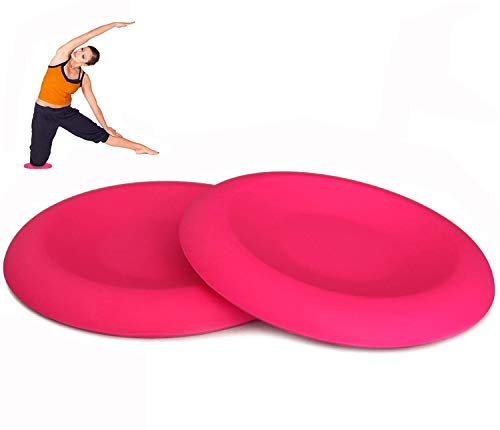 Yoga Knee Pads Full Silicone Yoga Mat for Elbow and Knee Support Non-Slip Design Yoga Gel Knee Pads 2 Pack