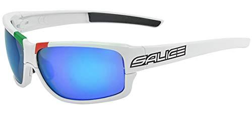 Salice 017 ITA Blanc - RW Bleu Sonnenbrille, Bianco, Einheitsgröße