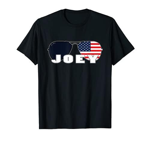 Biden Joey - Gafas de sol de aviador con bandera americana Camiseta