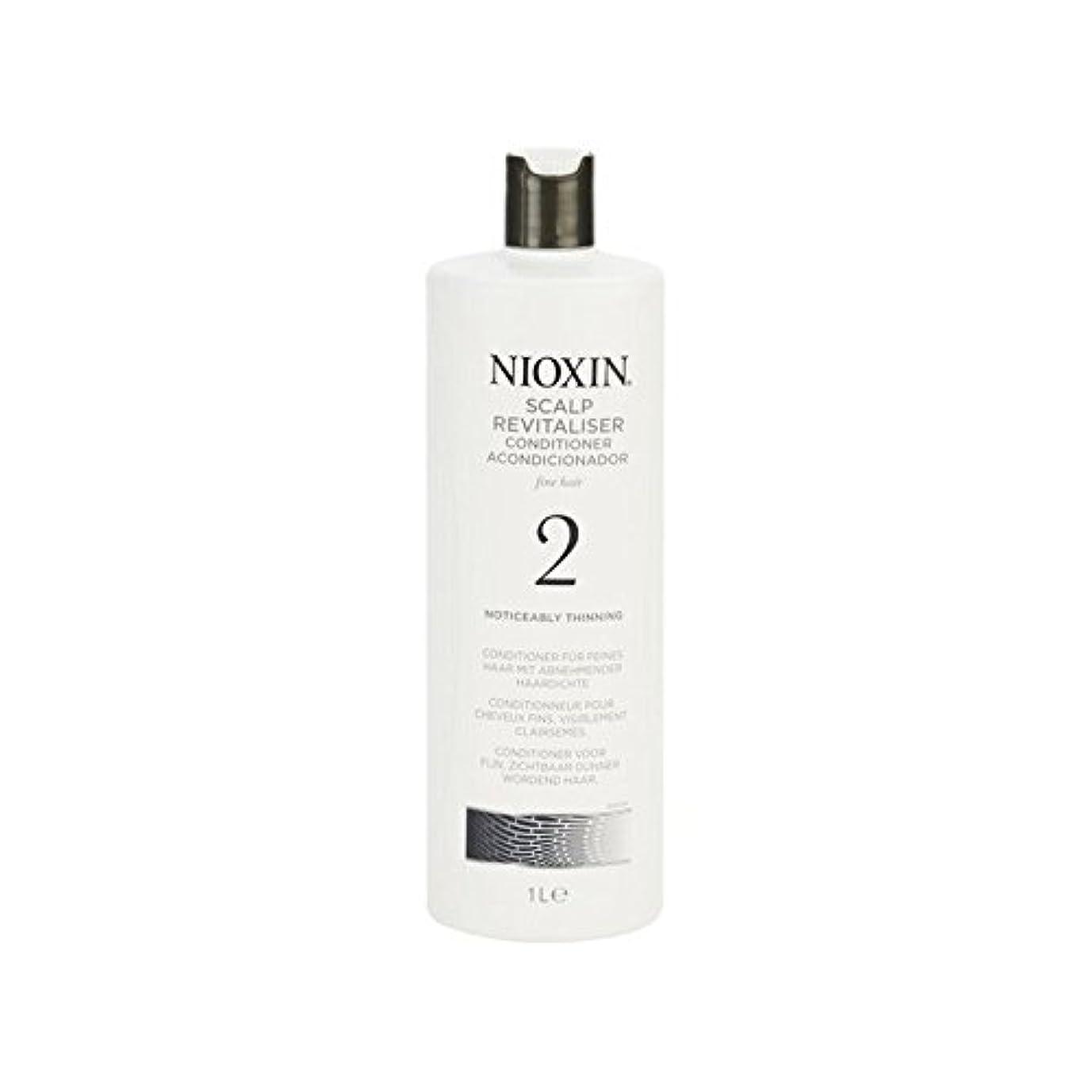 金曜日同等のそのようなNioxin System 2 Scalp Revitaliser Conditioner For Noticeably Thinning Natural Hair 1000ml (Pack of 6) - 著しく間伐自然な髪千ミリリットルのためのニオキシンシステム2頭皮コンディショナー x6 [並行輸入品]