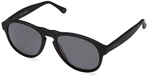 Oceansunglasses Washington matte black with smoke lens