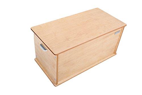 Little Helper NB/tty01–6g baúl grande de madera Room Tidy, weiβ con natural