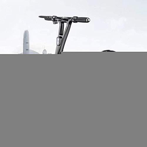 Schmutziger Korb Mountainbike Elektromobilität Roller Folding Elektroauto Elektro-Scooter 10-Zoll-Mini Adult Scooter Einzelne kleine Batterie-Auto-LED-Scheinwerfer (Color : 36v, Size : 60/70km)