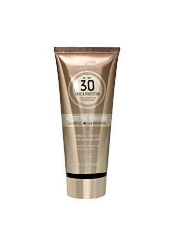 Tannymaxx Protective Body Care LSF 30 190ml mit Sheabutter und Kokosnuss-Öl/Intensiv pflegende Bodylotion mit Sonnenschutz + dermatologisch getestet, 1er Pack (1 x 190 ml)