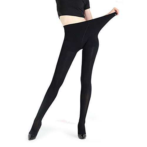 JEPOZRA leggings para mujer, cálido Otoño e invierno terciopelo elástico Leggings pantalones,...