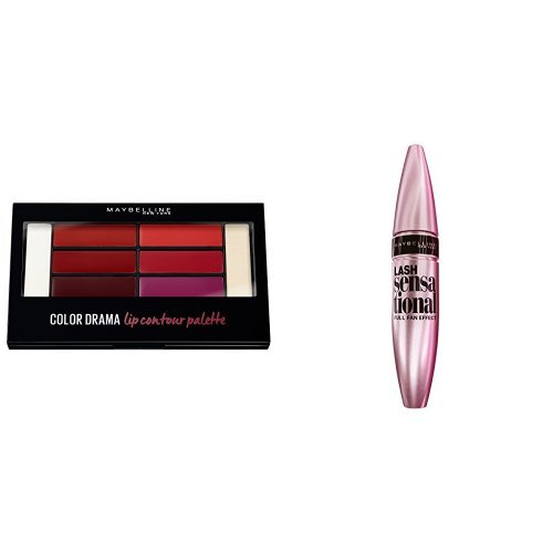 Maybelline Glossy Talk Make-up-Set, Bellas März-Look, Maybelline New York Lippenpalette + Lash...