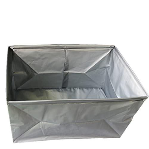 Accesorios de coche Juguetes construcción Caja almacenamiento maletero Tapa plegable Cajas plástico apilables Organización sin BPA Organizador para el hogar-10