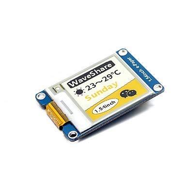 Auidkes Accessory Waveshare 1.54 pulgadas e-Paper Module(C) 152 x 152 1,54 pulgadas E-Ink módulo de pantalla amarillo/negro/blanco tricolor