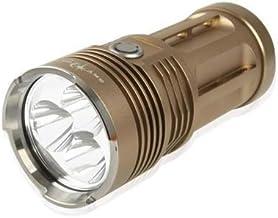 Yadianna High Power Sky RAY King 3 Mode CREE XM-L T6 3 LED Flashlight, Luminous Flux: 2000lm, Length: 135mm LED Lamp Mini ...