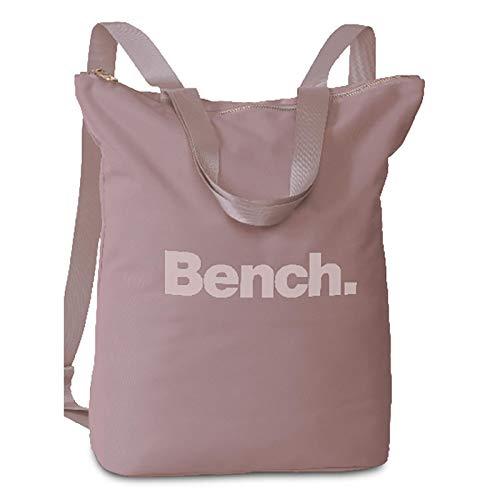 Bench Damen Handtaschen Rucksack Frauen Daypack Backpack 64160, Farbe:Flieder