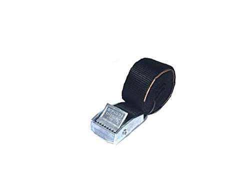 JUMBO Spanband 100cm, 25mm met klemgesp 20 pack