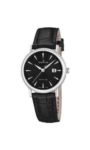 Candino Damen-Armbanduhr XS Analog Quarz Leder C4488/3