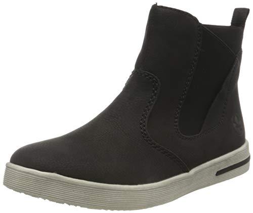 Rieker Damen Z3194 Chelsea-Stiefel, schwarz, 41 EU