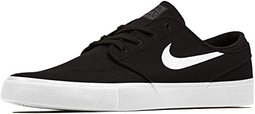 Nike SB Zoom Janoski Cnvs RM, Zapatillas de Deporte Unisex Adulto, Multicolor (Black/White/Thunder Grey/Gum Light Brown 000), 44.5 EU