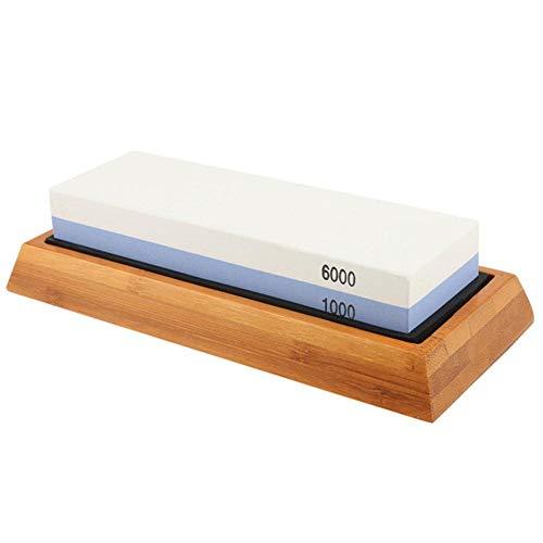 HJCWL 1 stuk slijpsteen dubbelzijdig wit korund slijpsteen 1000 6000 professioneel keukenmes