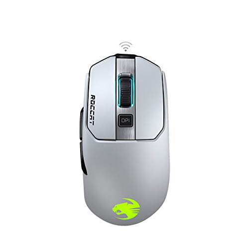 Roccat Kain 202 Aimo RGB Gaming Mouse - White (Renewed)
