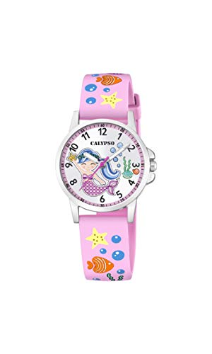 Calypso Quarz Uhr mit Kunststoff Armband K5782/1