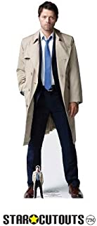Star Cutouts SC1351 Castiel (Supernatural) Misha Collins Lifesize Cardboard Cutout 184cm Tall 63cm Wide, Multicolour