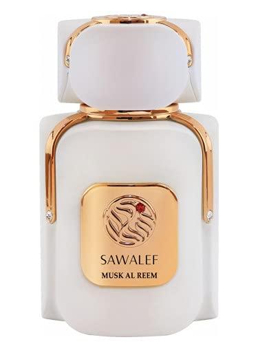 Musk AL REEM, Eau de Parfum de 80 ml de la gama SAWALEF Boutique | Unisex Floral Niche Release | Larga duración con Intenso Sillage | Perfume para mujeres y hombres seguros | por Swiss Arabian Oud