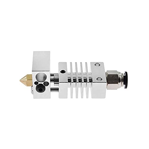 Printer Accessories 1.75mm Set Small Heat Break Titanium Thermal Extruder All Metal Stable Heatsink 3D Printer Hotend Kit for CR-10