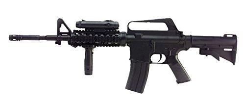 Well M16A4 Fucile Softair a molla (spring) - cal 6mm -0,5 Joule- con gli accessori