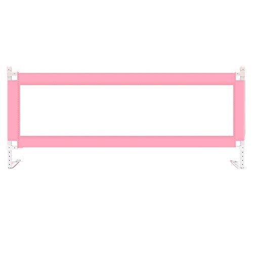 LHA akcesoria do łóżeczka niemowlęce, odporne na pękanie, wzmocnienie desek rozporowych, pogrubienie -150 cm, 180 cm, 200 cm x 98 cm (kolor : różowy, rozmiar: L-200 cm)