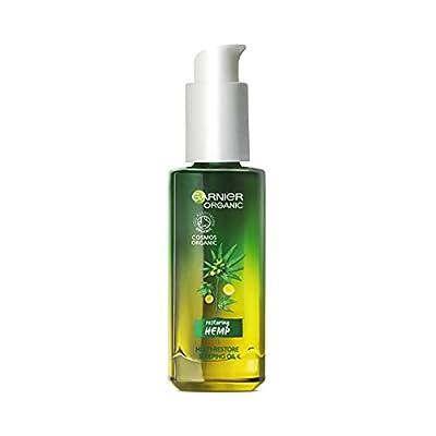 Garnier Organic Hemp Multi-Restore Facial Night Sleeping Oil 30ml by Loreal