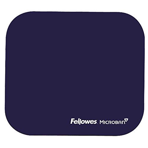 Fellowes Microban antibakteriell rechteckig Mauspad blau