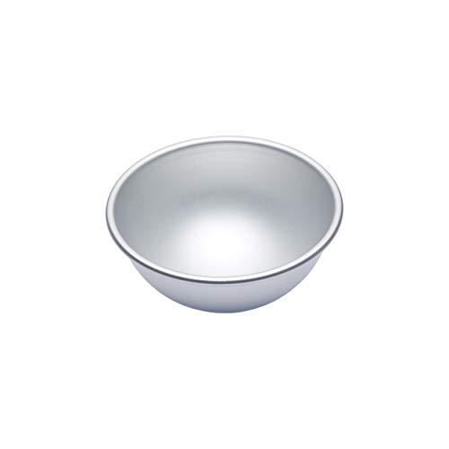 Master Class MCSA20 Halbkugel-Kuchenform Klein 15,5x7,5cm - Silber-eloxiert