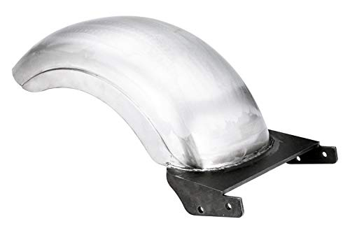 "AfterMokit Replacement 9"" Custom Rear Fender for Harley Softail Fat Boy with 180-200 Wide Tire Strutless Unpainted"