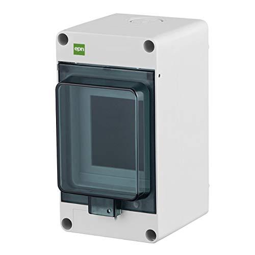 Sicherungskasten Kleinverteiler Feuchtraum Unterverteilung IP65 1reihig f.3 Automaten Außenbereich